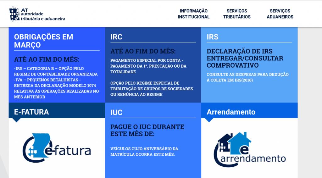 Portal financas