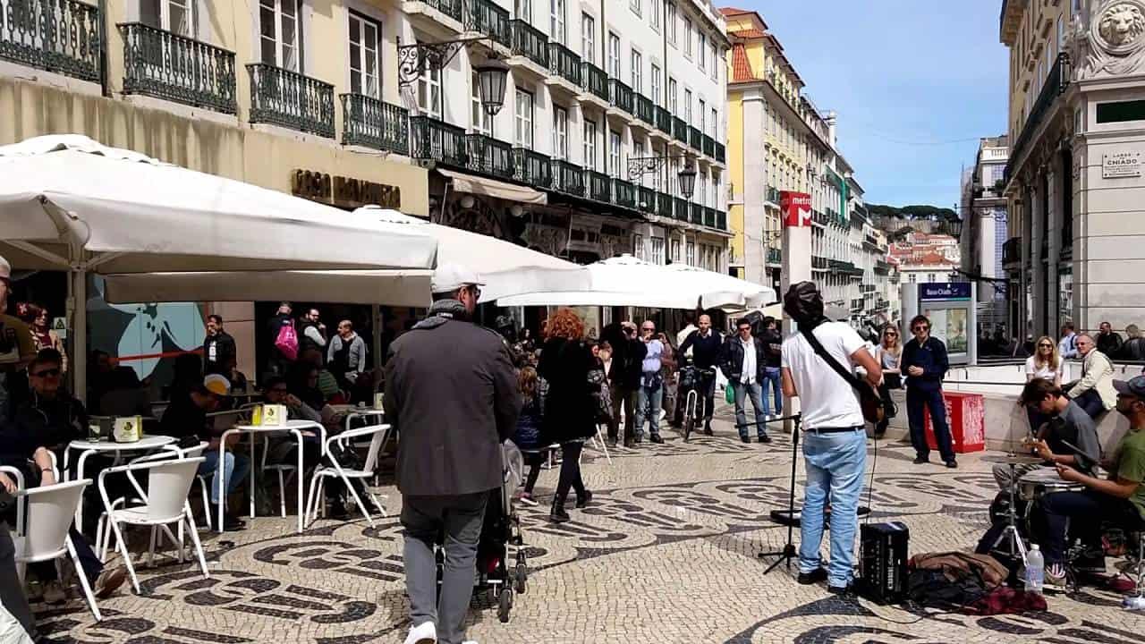 Baixa Chiado Lisbonne