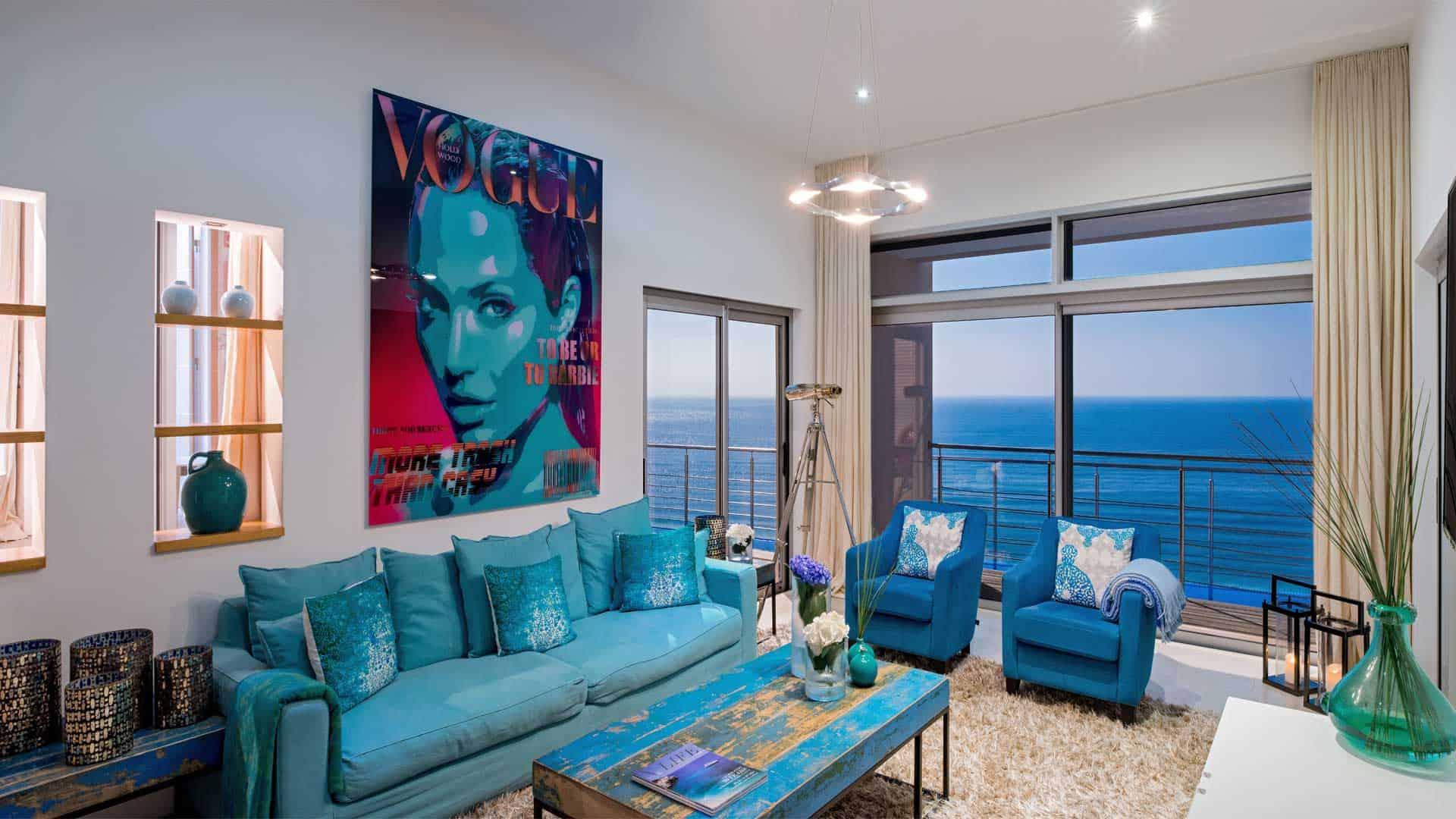 Azul, villa de luxe à louer à sagres en algarve