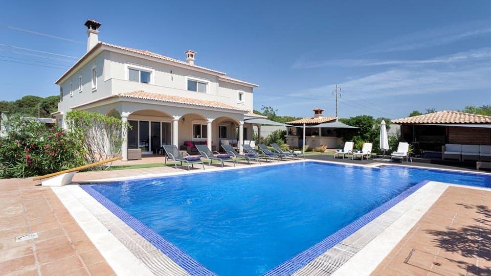 Rosinca, villa de luxe à louer à Vale do Lobo en algarve