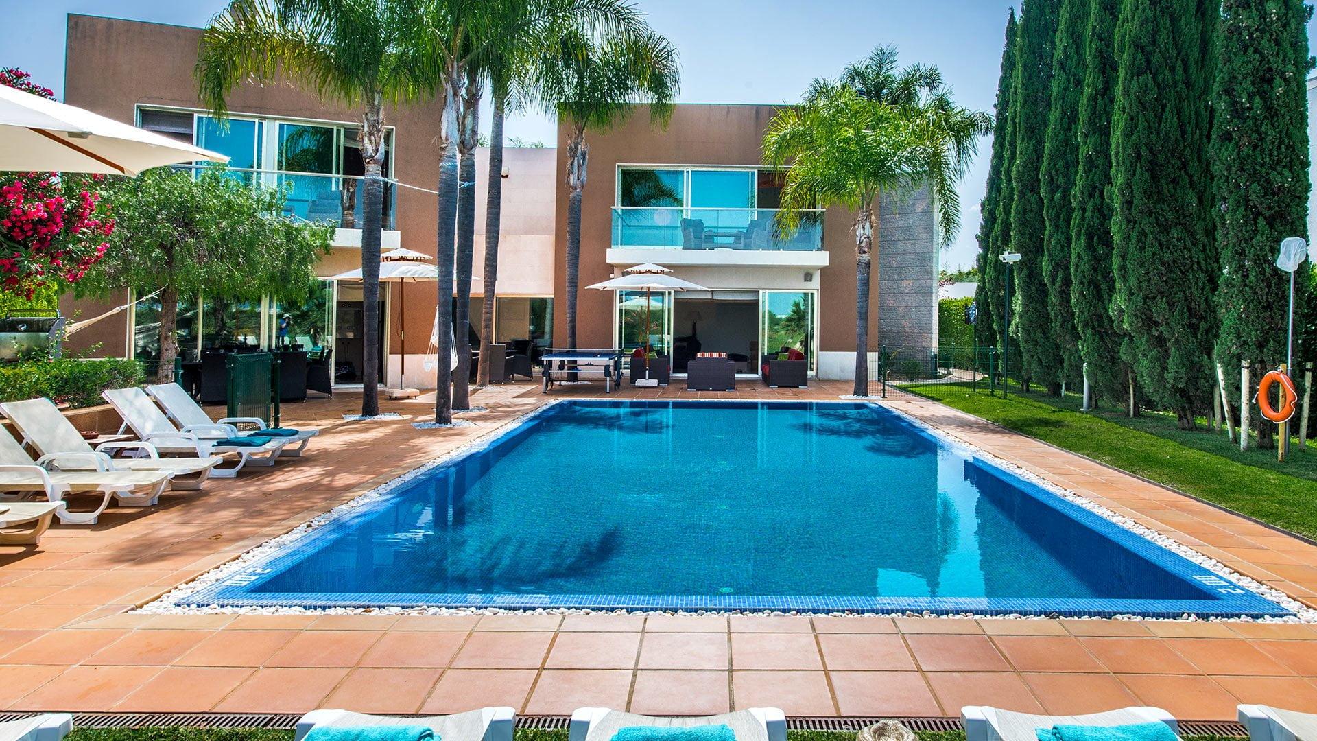 Lana, villa de luxe à louer à Vilamoura en algarve