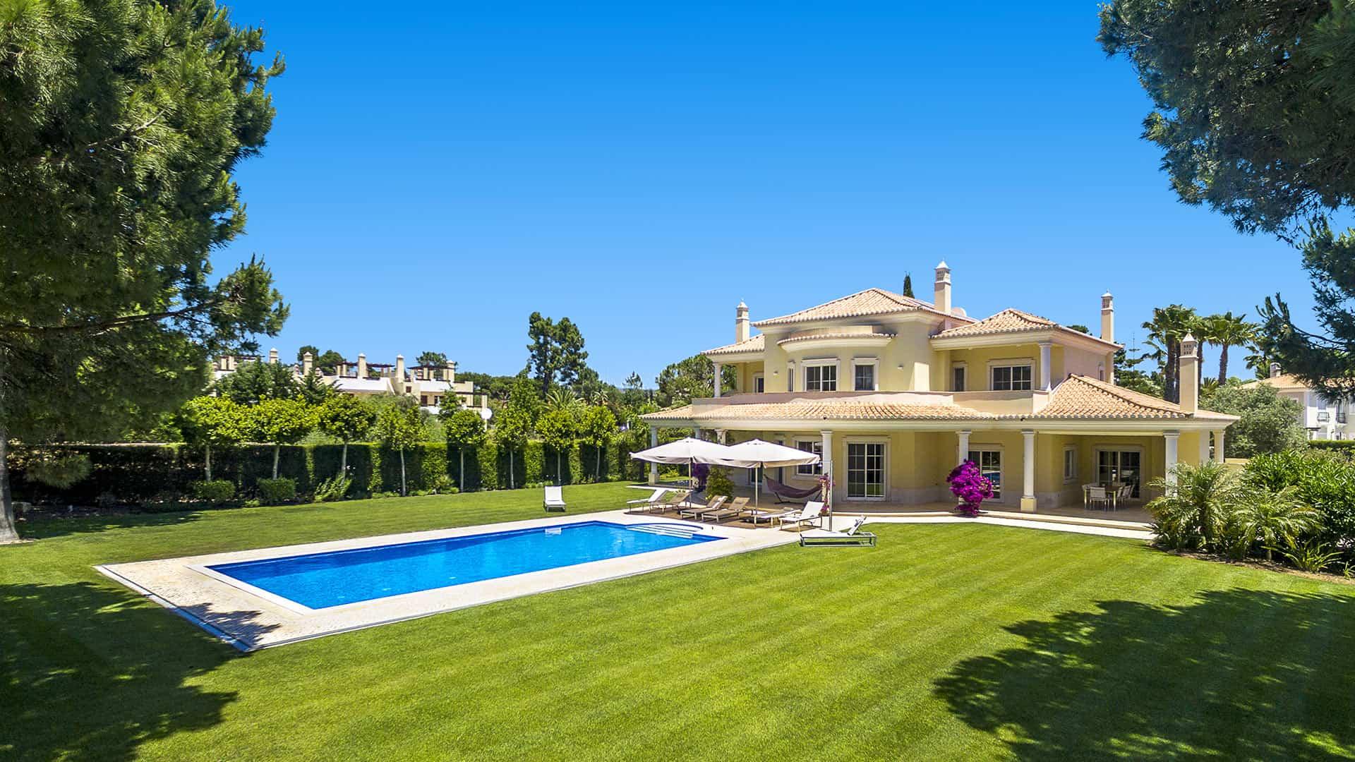 Sundrop, villa de luxe à louer à Vilamoura en algarve