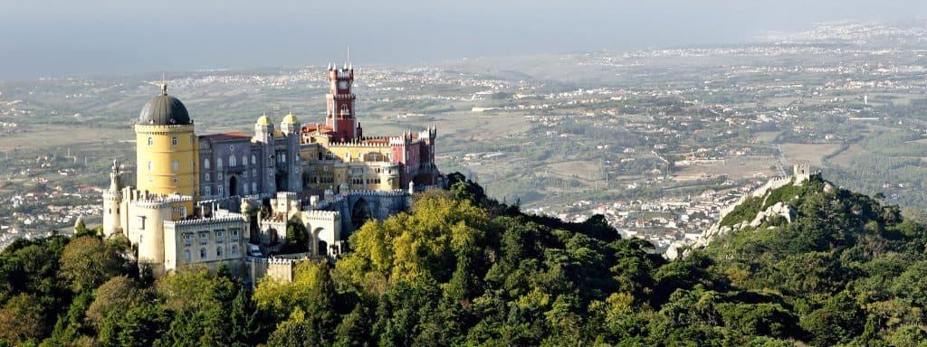 visiter le Château à Sintra Lisbonne