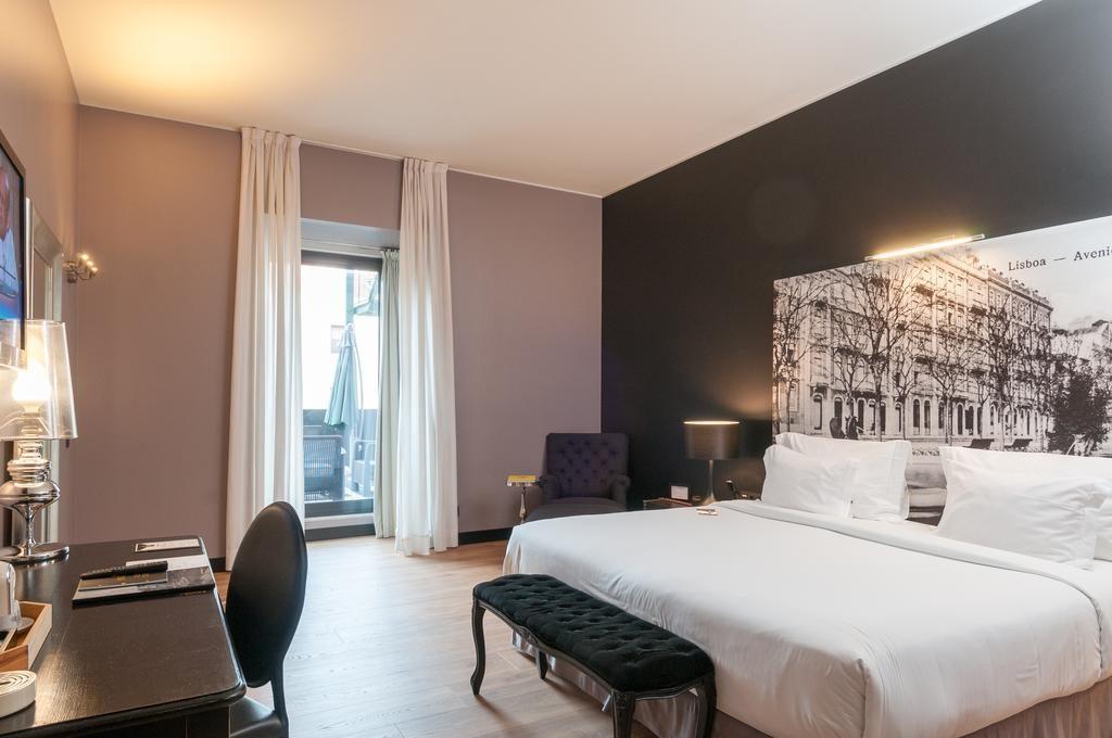Hotel de charme Fontecruz Lisbonne chambre