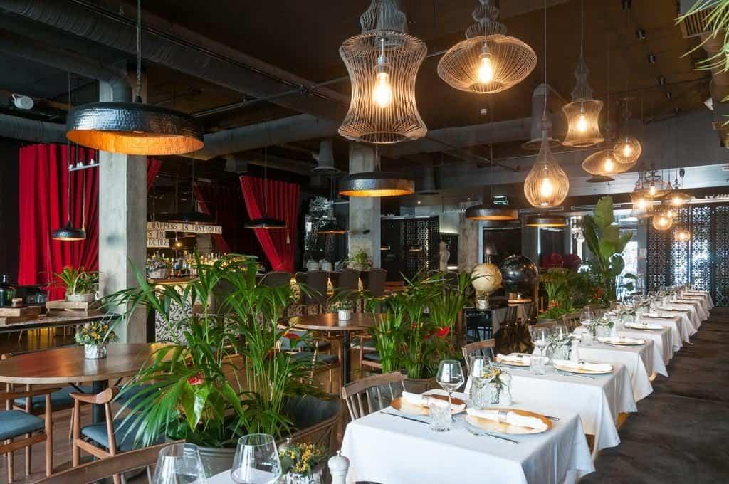 Hotel de luxe Fontecruz Lisbonne restaurant