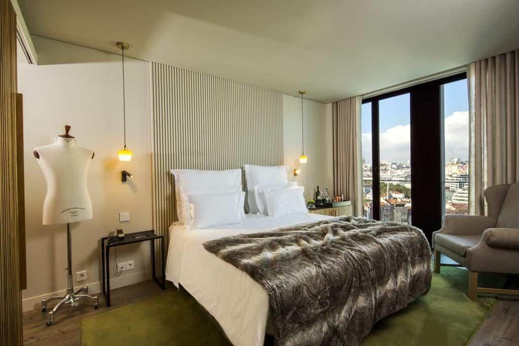 Hotel de charme Memmo Principe Real Lisbonne chambre