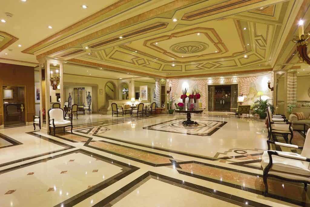 Hotel de luxe Olissippo Lisbonne hall