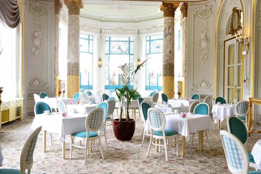 Hotel Pestana Palace Lisbonne restaurant