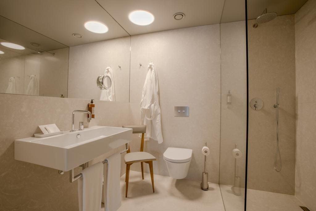 Hotel de luxe Raw Culture Lisbonne salle de bain