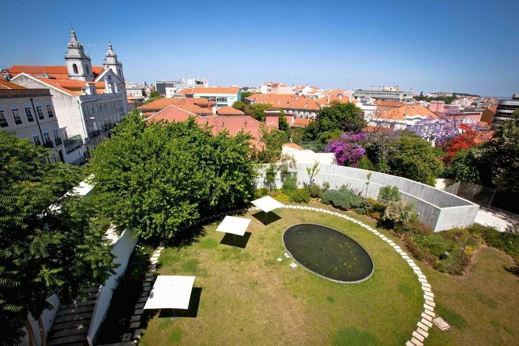 Hotel de luxe da Estrela Lisbonne jardin