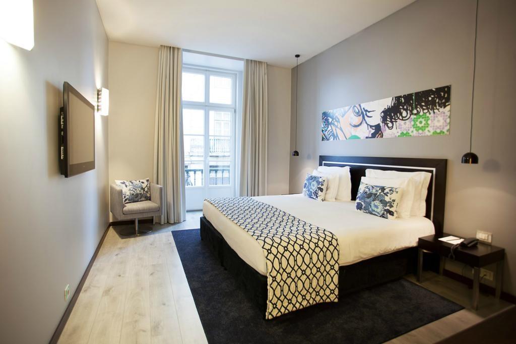 Hotel romantique Internacional Lisbonne chambre