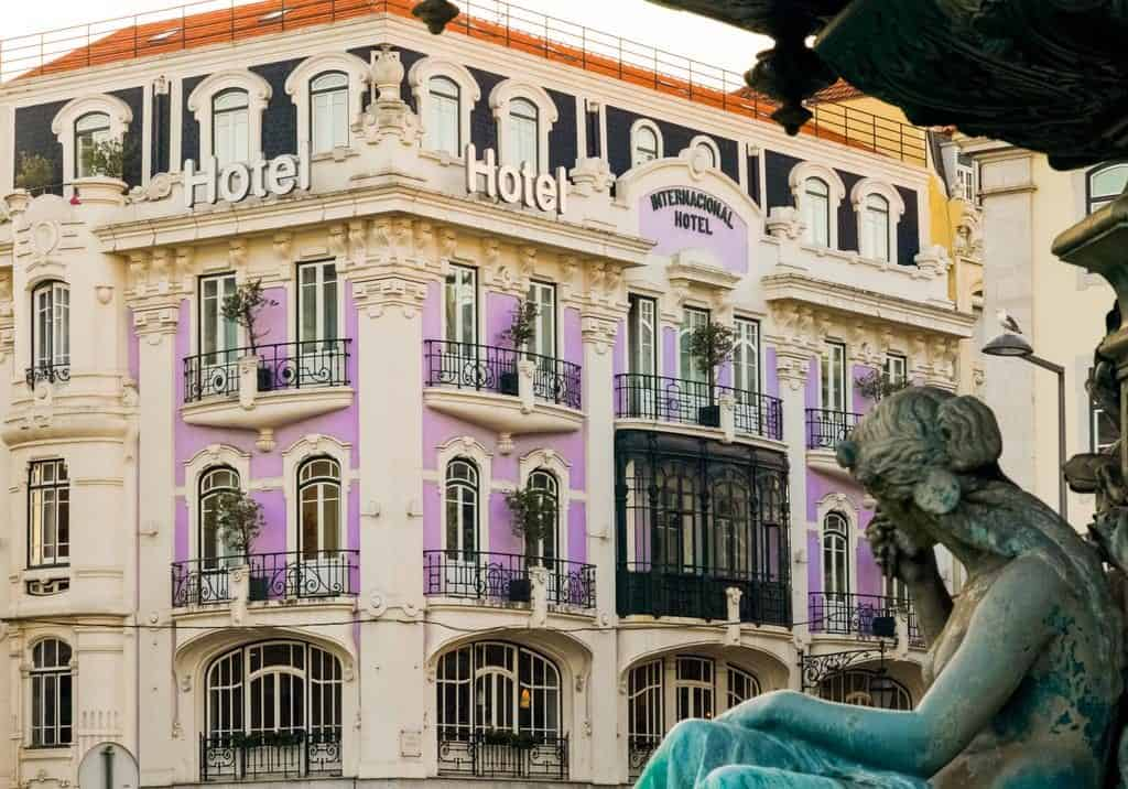 Hotel de luxe Internacional Lisbonne exterieur