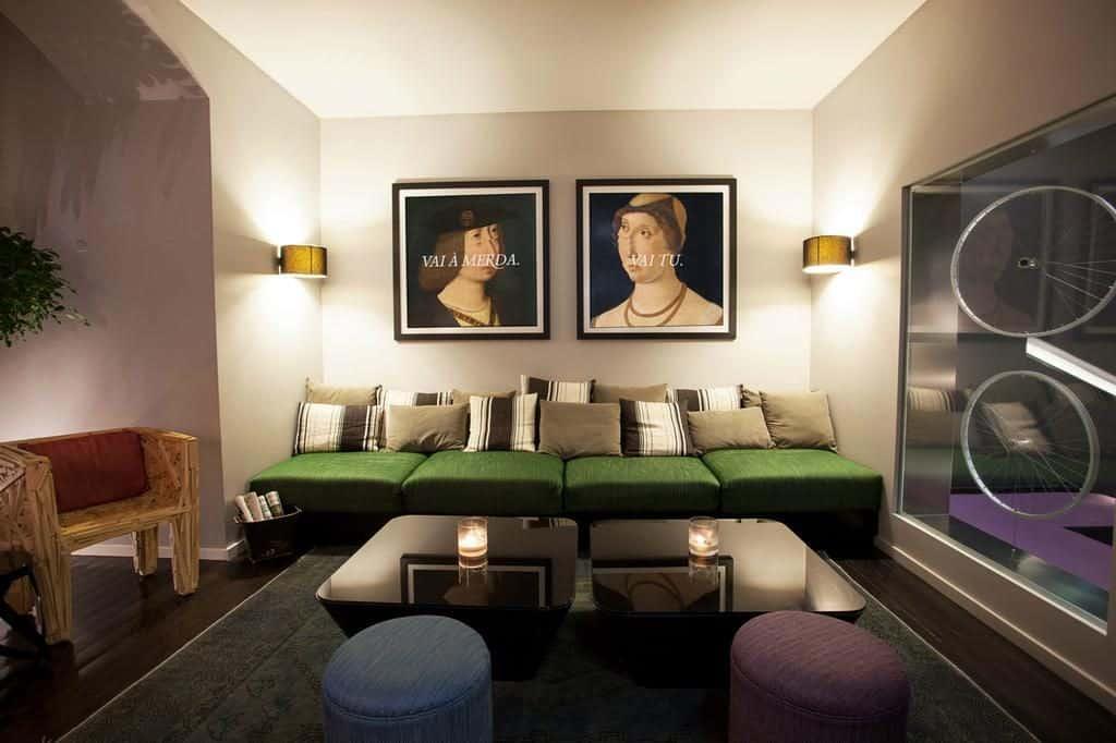 Hotel Internacional Lisbonne salon