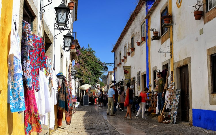 Rua Dyreita à Obidos