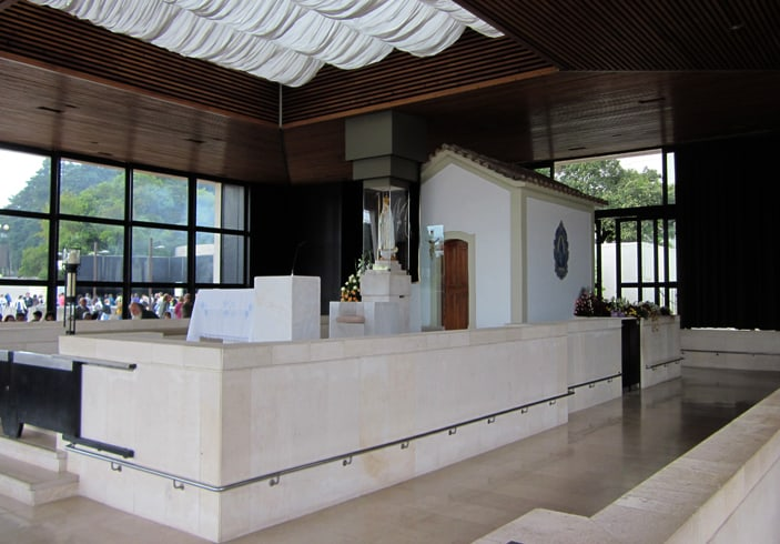 Chapelle apparition vierge marie Fatima