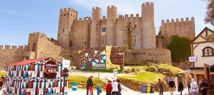 Fête du chocolat Obidos Portugal
