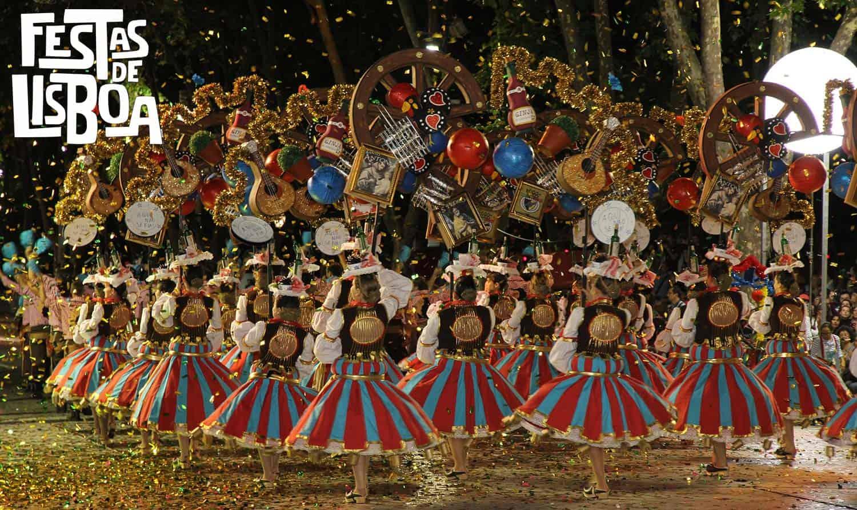 fêtes de lisbonne 2019 avenida liberdade
