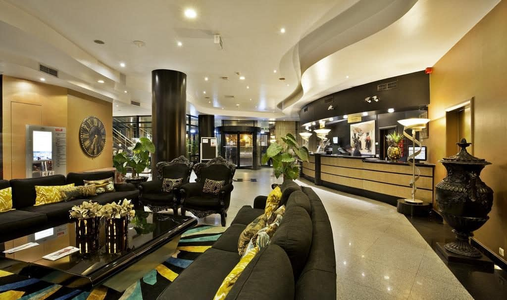 hotel Mundial Lisbonne hall