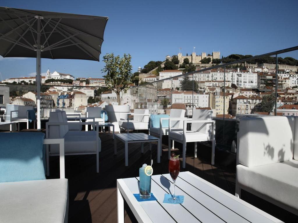 hotel Mundial Lisbonne terrasse