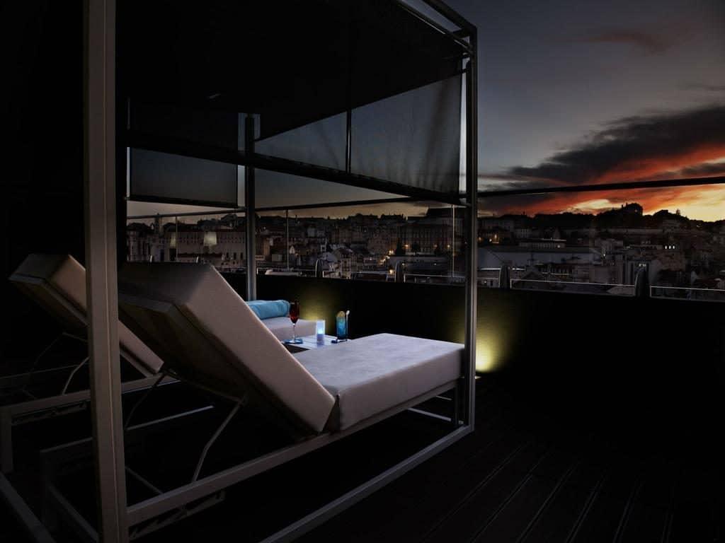 hotel Mundial Lisbonne vue