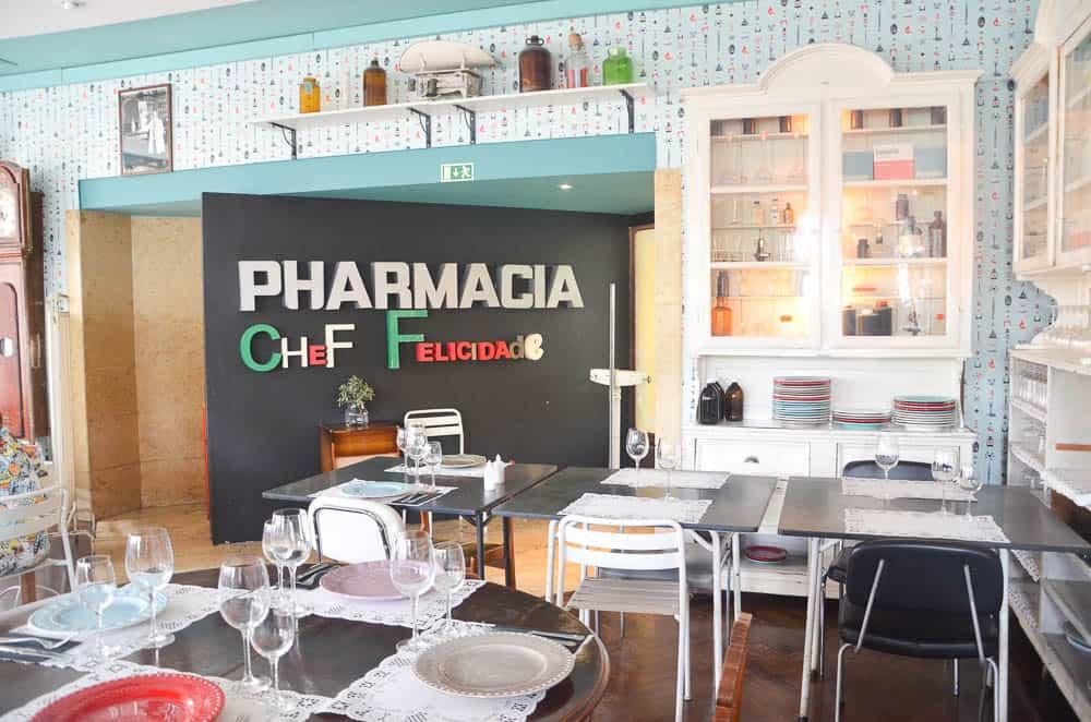 Pharmacia Chef Felicidade Tapas Lisbonne