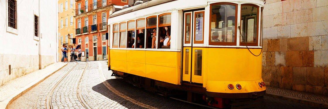 Visite tramway 28 Lisbonne