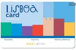 Acheter Lisboa Card carte Lisbonne