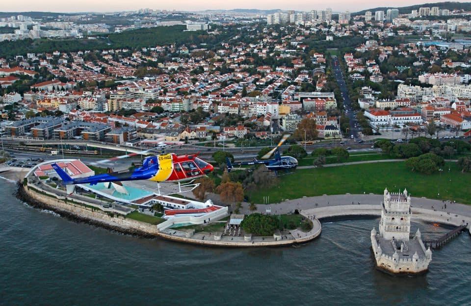 Balade hélicoptère Lisbonne