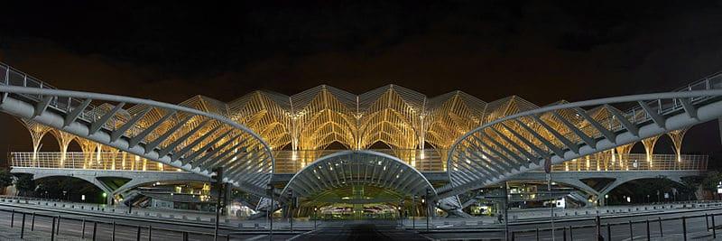 Station oriente Aquarium de Lisbonne