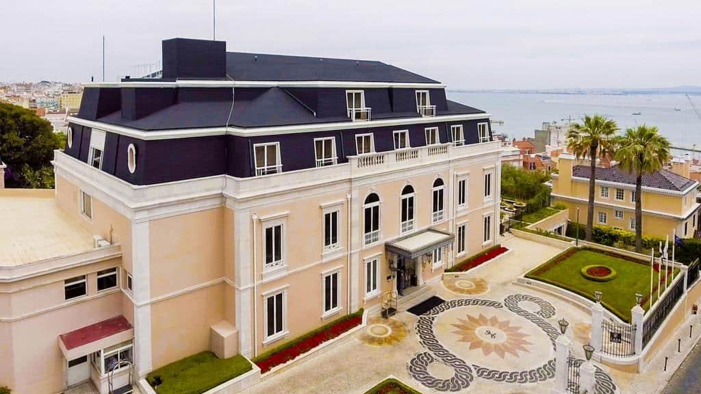 Hôtel de luxe Olissipo Portugal