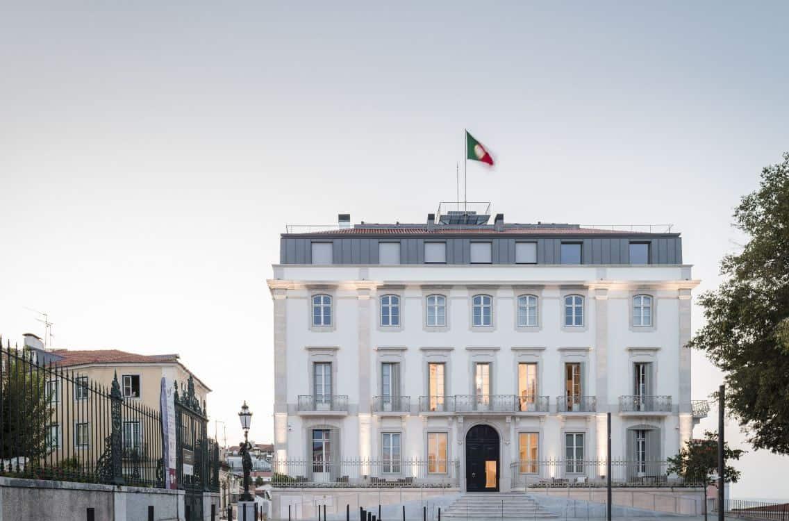 Hôtel de luxe Palace verride Santa Catarina Portugal