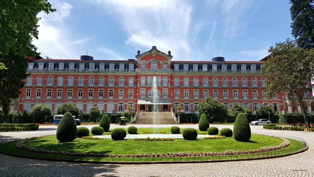 Hôtel de luxe Vidago Palace resort Portugal