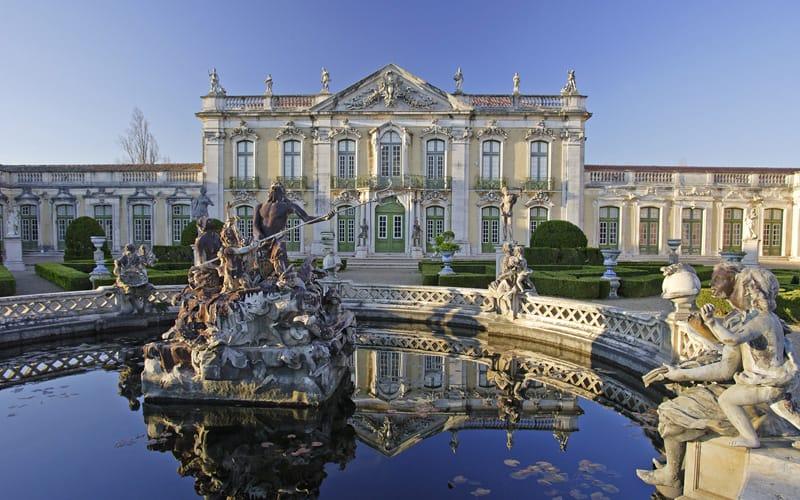 Palais Queluz à visiter à Sintra