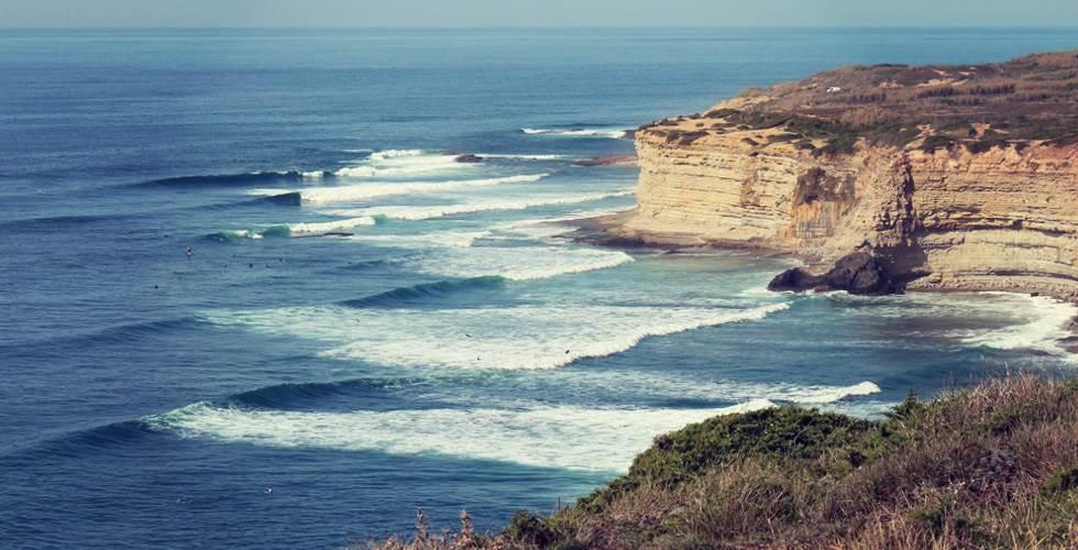 Surf Ericeira vague Ribeira d'Ilhas