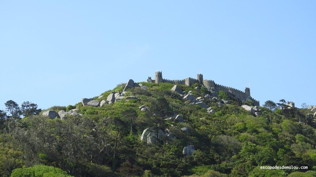 Visiter Sintra château des Maures