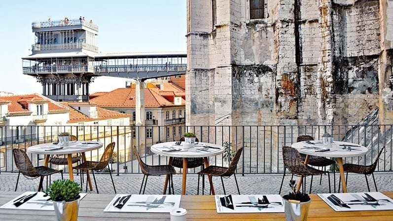 Terasses do Carmo Lisbonne