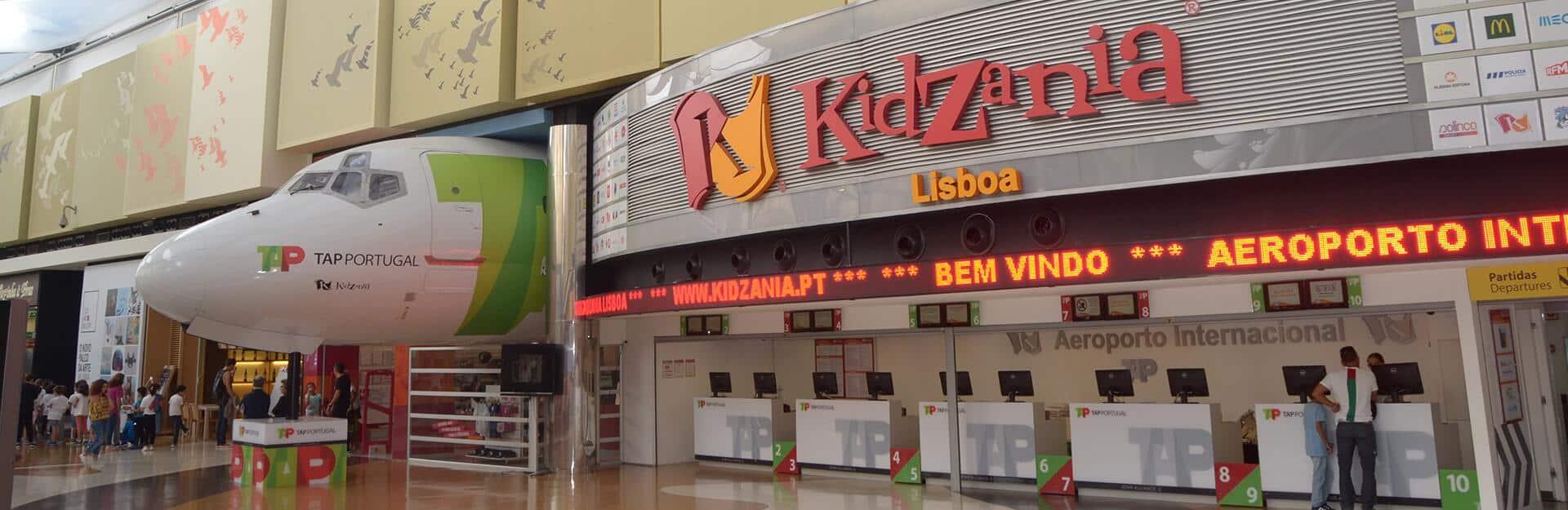 visiter Kidzania Lisbonne famille