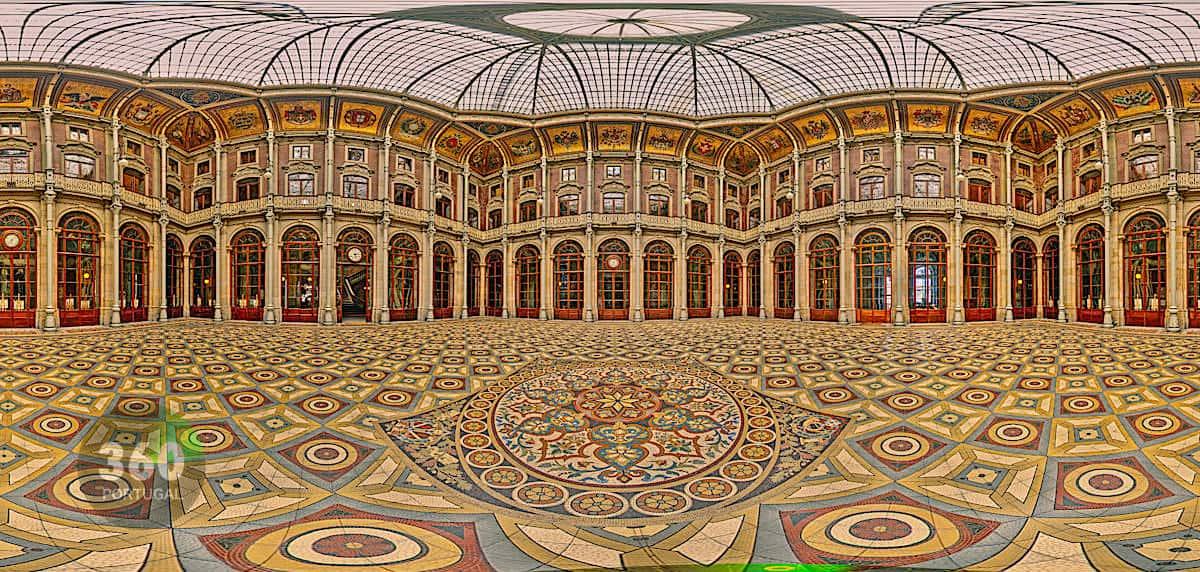 visite palais bolsa Porto