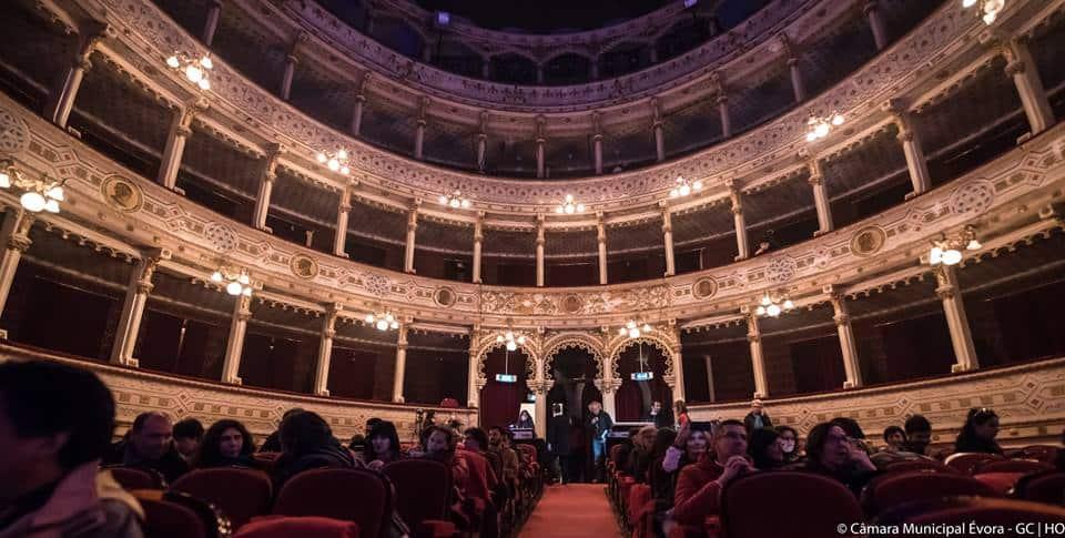 théâtre Garcia de Resende Evora