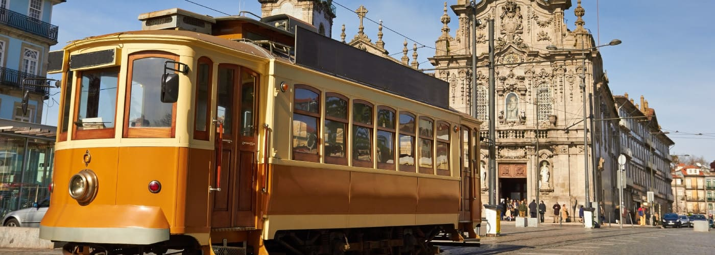 visite tramway Porto
